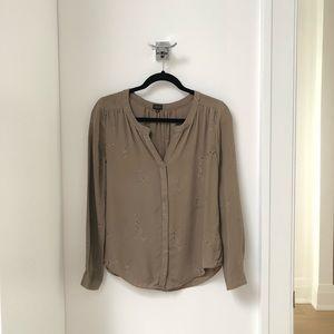 Babaton Blouse from Aritzia. 100% Silk. Size XS.